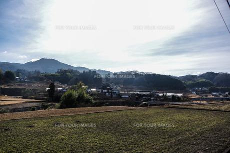 田舎の風景の写真素材 [FYI01238000]