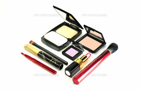 化粧品のセットの写真素材 [FYI01238056]