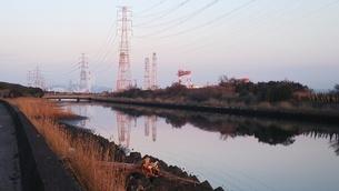 大分県大分市 別府湾 発電所の写真素材 [FYI01238160]