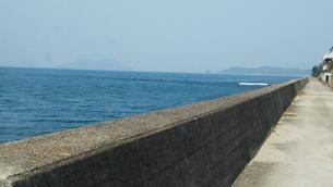 瀬戸内海 冬 屋島付近の写真素材 [FYI01238194]