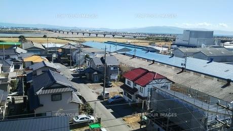 富士川橋梁 静岡県 富士市の写真素材 [FYI01238210]