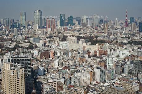 東京都心部の写真素材 [FYI01238285]