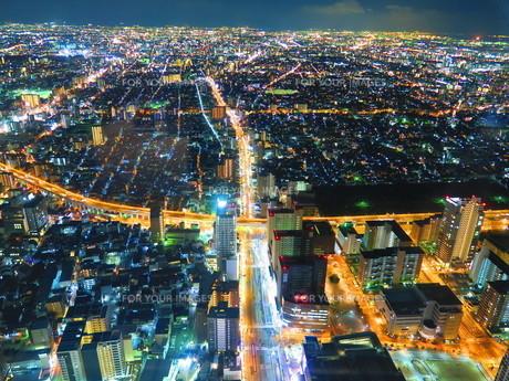 夜景の写真素材 [FYI01238298]