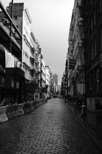ニューヨークの裏路地の写真素材 [FYI01238418]