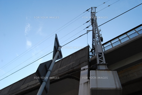 鉄道の写真素材 [FYI01238522]