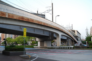 高架橋の写真素材 [FYI01238529]