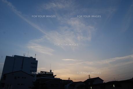 夕方の写真素材 [FYI01238532]
