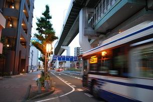 市バスの写真素材 [FYI01238534]