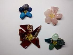 天然石の花の写真素材 [FYI01238631]