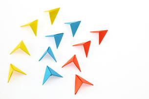 折紙の矢印の写真素材 [FYI01238646]