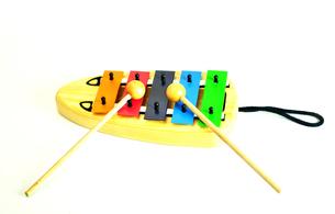 おもちゃの鉄琴の写真素材 [FYI01238659]