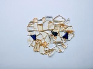 水晶ブロックの写真素材 [FYI01238688]