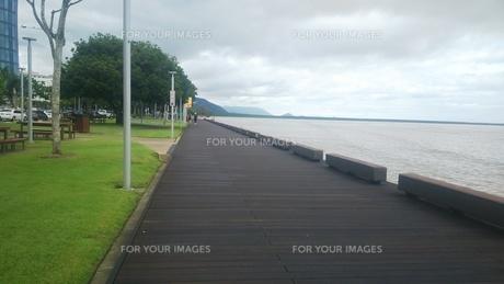 オーストラリア クイーンズランド州 ケアンズ ボードウォーク3 Australia  Cairnsの写真素材 [FYI01238997]