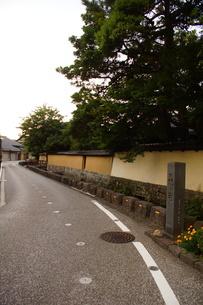 金沢の町並み 旧武家屋敷の写真素材 [FYI01239464]