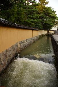 金沢の町並み 旧武家屋敷の写真素材 [FYI01239467]