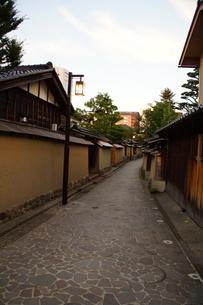 金沢の町並み 旧武家屋敷の写真素材 [FYI01239468]