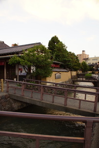 金沢の町並み 旧武家屋敷の写真素材 [FYI01239474]