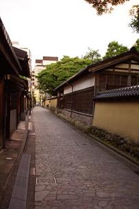 金沢の町並み 旧武家屋敷の写真素材 [FYI01239480]
