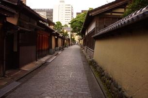 金沢の町並み 旧武家屋敷の写真素材 [FYI01239481]