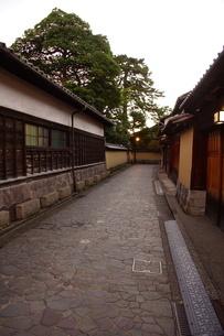 金沢の町並み 旧武家屋敷の写真素材 [FYI01239482]