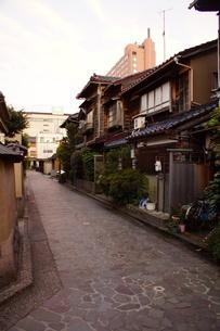 金沢の町並み 旧武家屋敷の写真素材 [FYI01239485]