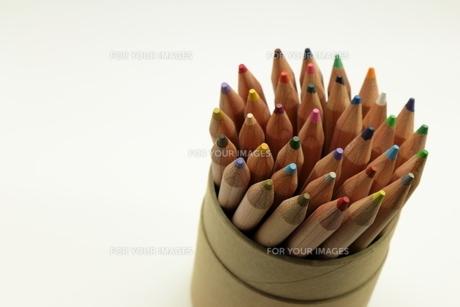 色鉛筆の写真素材 [FYI01239665]
