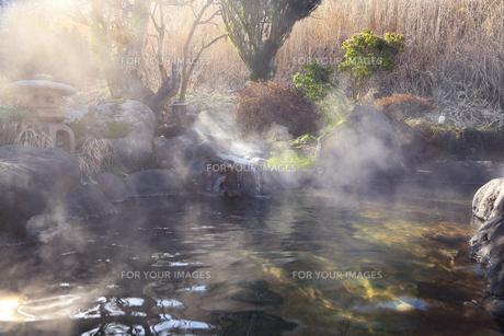 天然温泉の写真素材 [FYI01239708]