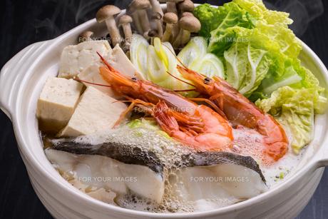 海鮮鍋の写真素材 [FYI01239756]