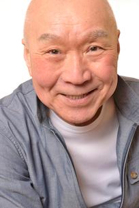 笑顔の日本人シニアの写真素材 [FYI01239848]