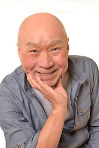 笑顔の日本人シニアの写真素材 [FYI01239850]