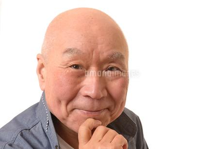 笑顔の日本人シニアの写真素材 [FYI01240092]