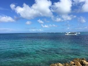 沖縄 恩納村 美ら海の写真素材 [FYI01240370]