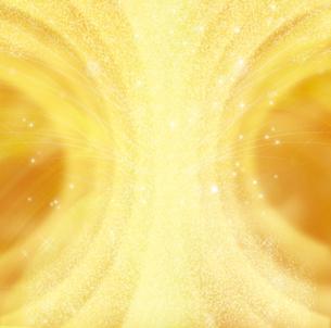 金色の光の背景のイラスト素材 [FYI01240413]