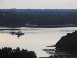 朝の的矢湾の写真素材 [FYI01240954]