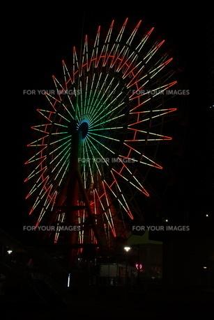 神戸ハーバーランドの夜景の写真素材 [FYI01240985]