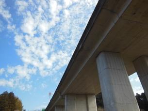 高速を見上げたの写真素材 [FYI01241112]