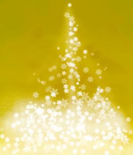 金の雪の結晶のイラスト素材 [FYI01241130]