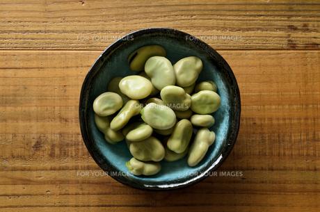 そら豆の写真素材 [FYI01241153]