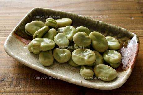 そら豆の写真素材 [FYI01241156]