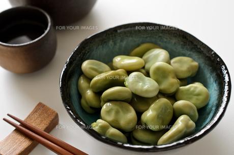 そら豆の写真素材 [FYI01241159]