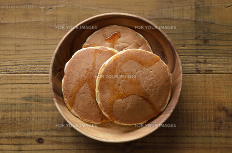 ホットケーキの写真素材 [FYI01241166]
