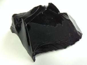 黒曜石の塊の写真素材 [FYI01241411]