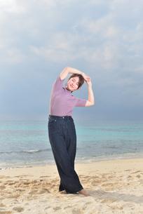 宮古島/リフレッシュ休暇の女性の写真素材 [FYI01241497]