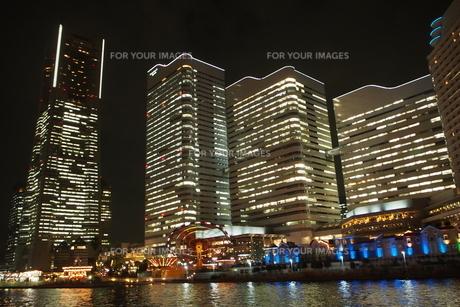 横浜の夜景の写真素材 [FYI01241752]