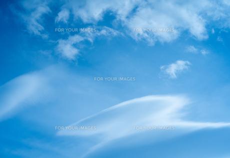 青空と雲の写真素材 [FYI01241839]