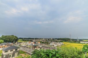 夏の物井の風景の写真素材 [FYI01241918]