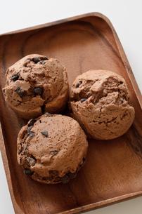 チョコレートスコーンの写真素材 [FYI01242050]