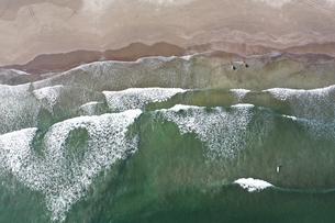 海岸の空撮の写真素材 [FYI01242155]