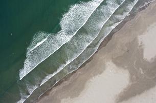 海岸の空撮の写真素材 [FYI01242156]