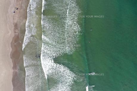 海岸の空撮の写真素材 [FYI01242157]